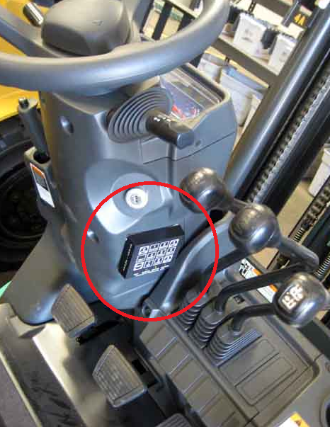 Solve The Problem: Access Control A Forklift?